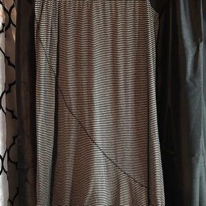 Dresses & Skirts - Gray & black maxi skirt